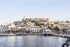 Harbor of Ibiza Royalty Free Stock Photo