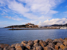 Harbor in Ibiza Town Royalty Free Stock Image
