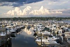 Harbor il porticciolo della collina fotografie stock