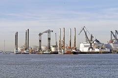 Harbor industry Royalty Free Stock Photo