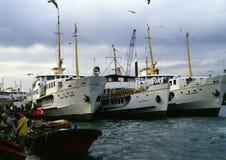 Harbor, Istanbul Royalty Free Stock Photo