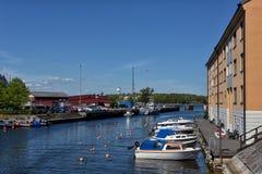Harbor of Karlskrona, Sweden Royalty Free Stock Photos
