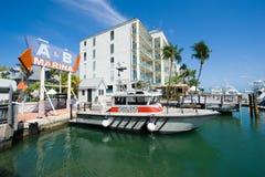 Harbor of Key West Stock Photography