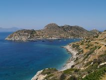 Harbor of Knidos. Royalty Free Stock Images