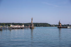 The harbor of Konstanz, Germany Royalty Free Stock Photo