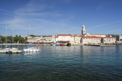 Harbor of KrK Royalty Free Stock Images