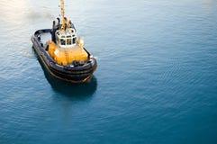 Harbor la barca Immagini Stock Libere da Diritti