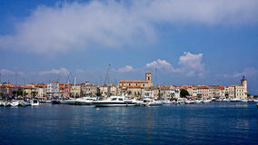 The Harbor in La Ciotat Royalty Free Stock Photo