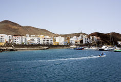 Harbor of La Restinga, El Hierro, Canary Islands Royalty Free Stock Image