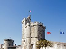 Harbor of La Rochelle, Charente-Maritime France Stock Photos