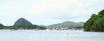 Harbor in Labuan Bajo Stock Photography