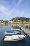 Harbor of Lacco Ameno village, Ischia island, Italy Royalty Free Stock Photo