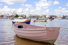 Harbor from Lagos in Portugal Stock Images