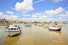 Harbor from Lagos in Portugal Stock Photography