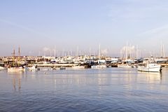 Harbor from Lagos in Portugal Stock Image