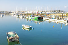 Harbor from Lagos Portugal Stock Image
