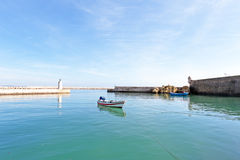 Harbor from Lagos in Portugal Royalty Free Stock Image