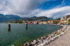 Harbor, Lake Garda Stock Image