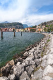Harbor, Lake Garda Royalty Free Stock Photo