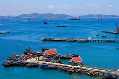 Harbor le navi di Freight Immagine Stock Libera da Diritti