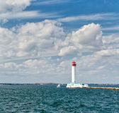 Harbor lighthouse. Stock Image