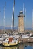 Harbor Lighthouse of Desenzano Royalty Free Stock Image
