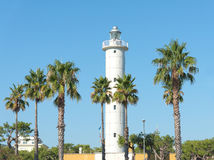 Harbor Lighthouse of San Benedetto del Tronto - Italy Royalty Free Stock Photography