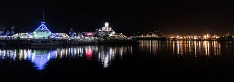 Harbor Lights Royalty Free Stock Photo
