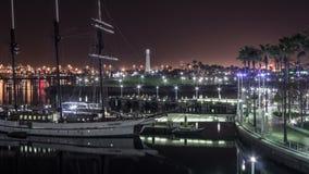 Harbor Lights stock video footage