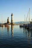 Harbor of Lindau, lake constance Stock Photography