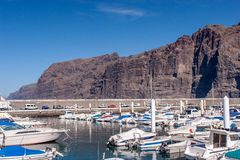 Harbor Los Gigantes Royalty Free Stock Photography