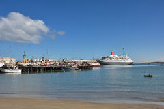 Harbor of Luderitz, Namibia Royalty Free Stock Photo