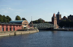 Harbor of luebeck Royalty Free Stock Photography