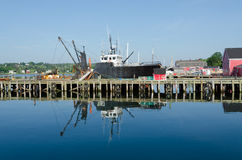 Harbor of Lunenburg Stock Photography