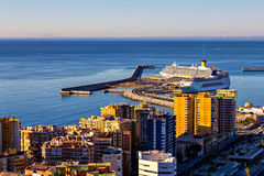 Harbor of Malaga, Andalusia, Spain Royalty Free Stock Photography