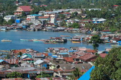 Harbor in Manokwari Royalty Free Stock Photo