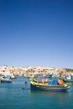 Harbor, Marsaxlokk, Malta Stock Image