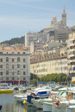 The Harbor at Marseilles, France Stock Images