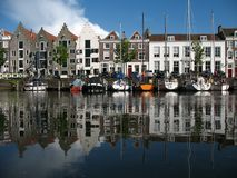 Harbor Middelburg Royalty Free Stock Images