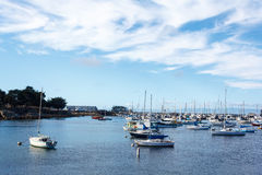 Harbor of Monterey Royalty Free Stock Images