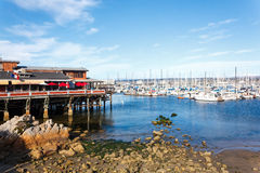 Harbor of Monterey. Harbor at Monterey Bay in California Royalty Free Stock Photography
