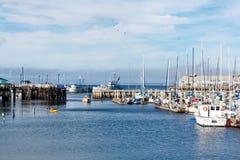 Harbor of Monterey. Harbor at Monterey Bay in California Stock Photos