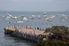 Harbor in Mumbai Royalty Free Stock Photo