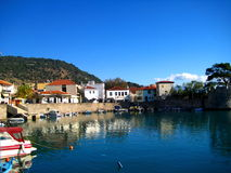 Harbor, Nafpakto Greece Royalty Free Stock Images