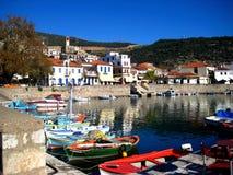 Harbor, Nafpakto Greece Stock Photography