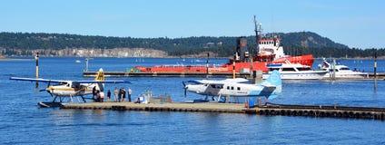 Harbor of Nanaimo Stock Photo