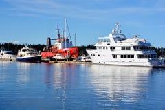 Harbor of Nanaimo Stock Photos