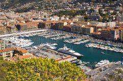 Harbor in Nice France Royalty Free Stock Photography