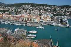 Harbor in Nice Stock Images