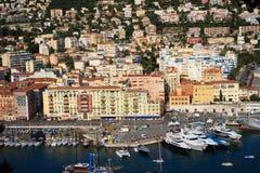 Harbor in Nice, France Stock Image